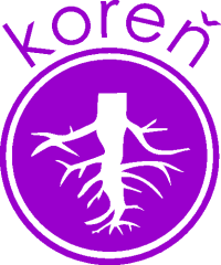 Galleko koreň logo