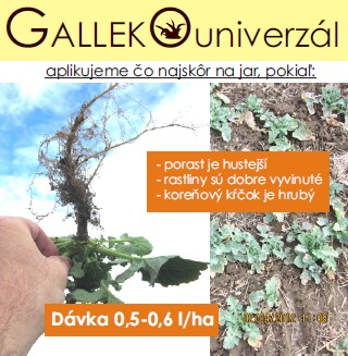 Galleko univerzál - repka